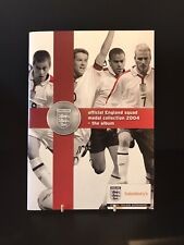 More details for sainsburys official england squad medal collection 2004 complete