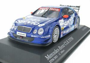 MINICHAMPS - Mercedes-Benz CLK Coupe DTM 2002 - Albers Nr 42 - 1:43 - Modellauto