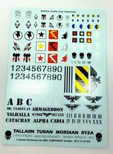 Imperial Guard Tank transfer sheets decal decals stickers transfers Leman russ