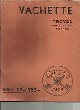80 -Somme- Sailly- Flibeaucourt  Catalogue Vachette - Serrurrerie-Troyes-4scanns