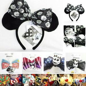 DISNEY Haarreif OHREN * Minnie MOUSE Auswahl * WECHSELSCHLEIFE Disneyland PARIS