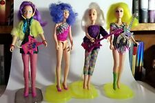 Jem and the Holograms - Misfit lot - Stormer, Pizzazz, Roxy, Clash