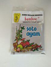 Bamboe Bumbu Instant Soto Ayam (local packaging), 40 Gram (Pack of 6)
