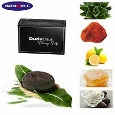 1 Stück 150 g Dudu Osun Seife Nigeria Black Soap Akne Pickel Hautunreinheiten