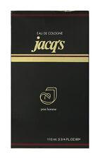 Jacq's Pour Homme Eau De Cologne Splash 3 3/4Oz/110 ml In Box
