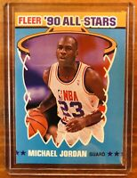 1990-91 Fleer All-Stars Set Break # 5 Michael Jordan NM-MT OR BETTER Bulls HOF