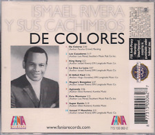 FANIA Salsa RARE CD REMASTERED Ismael Rivera y sus Cachimbos DE COLORES agitando