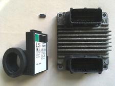 Motorsteuergerät mit Wegfahrsperre-Satz OPEL Zafira 1.6 16V Z16XE GM Nr 12214880