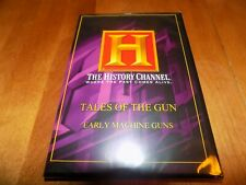 TALES OF THE GUN EARLY MACHINE GUNS Military War HISTORY CHANNEL Rare DVD NEW