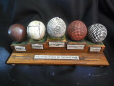 """Paper Weight Development of the Golf Ball 1590 to 1900 Resin 8"""" Long"""