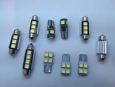 KIT 10 SMD LED Interior Lights VW Volkswagen Scirocco 3 3R Bulbs White GR