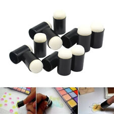 40Pcs Finger Sponge Daubers Painting Ink Stamping Chalk Reborn Art Tools & Box