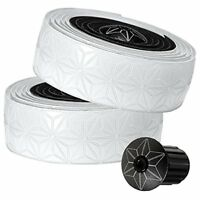 Supacaz Bicycle Super Sticky Kush - Star Fade, Handlebar Tape, White