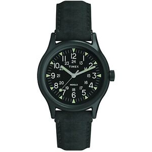 Timex MK1 Black Dial Canvas Strap Men's Watch TW2R68200