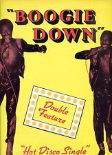 DOUBLE FEATURE boogie down 12INCH 33 RPM US EX 1979