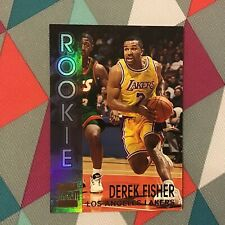 Derek Fisher #R7 lakers Rookie RC Members Only 1996-97 Topps Stadium Club