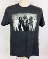 Star Wars Graphic T-Shirt Men's Short Sleeve Ft. Bad Guy Mug Shot Size Medium