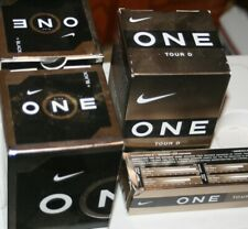 Nike One Black and Gold Golf Balls New
