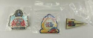 <Lot of 3> Super Bowl XL 40 Southwest Airlines Detroit Collectible Lapel Pins