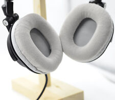 Gray Velour Ear pads for Audio technica ATH-M50 M50S M50X M40 M40S M40X headset