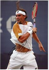 DAVID FERRER - Signed 12x8 Photograph - TENNIS