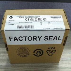 New Sealed AB 1734-AENT SER B POINT I/O Ethernet Network Adaptor 1734AENT