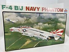 Vintage ESCI 1/48 Scale F-4 B/J Navy Phantom Jet   #art.4043