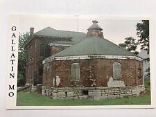 Gallatin Missouri Squirrel Cage Jail 1889 Postcard