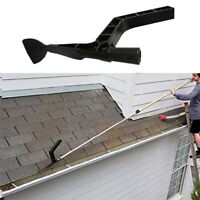 Gutter Hole Cleaning Tool Hook Scoop Shovel Skylights Roof Garbage Debris Remove