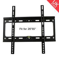 Fixed TV LCD LED Wall Mount Bracket Plasma 26 27 30 32 37 40 42 46 47 50 52 55