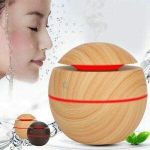 LED Rechargeable Aroma Essential Diffuser Air Humidifier Purifier Aromatherapy