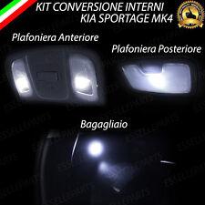KIT LED INTERNI KIA SPORTAGE MK4 KIT DI CONVERSIONE COMPLETA 6000K NO ERROR
