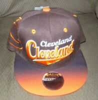 CLEVLAND BROWNS  Hat Cap Script Visor Embroidered Brown and orange #5