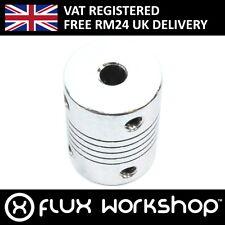 3pcs 5 To 5mm Aluminium Shaft Coupler Coupling Cnc Machine Lead Flux Workshop