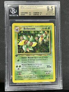 2000 Pokemon 1st Edition Neo Genesis Bellossom 3/111 BGS 9.5 Gem mint