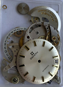 Zenith Automatic 2572 Watch Dial & Movement