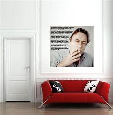 Christopher Hitchens escritor autor Gigante Pared Arte Cartel Impresión Foto Nueva