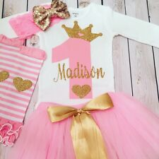 First birthday outfit girl, second birthday shirt, birthday outfit, pink tutu