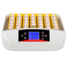 New listing 42-Egg Fully Automatic Poultry Incubator With Egg Candler Temperature Control Us