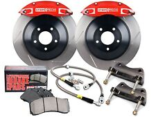 STOPTECH TOURING BBK BIG BRAKE KIT (FRONT/RED/6 PISTONS/SLOTTED/355MM ROTORS)