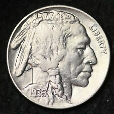 1936 Buffalo Nickel CHOICE AU FREE SHIPPING E227 RF