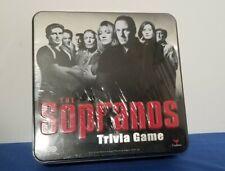 The Sopranos Trivia Game - Metal Box New Sealed