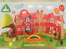 Happyland - Cherry Lane Cottage - Childs Playset - Suitable Ages 2-5 Years - NEW