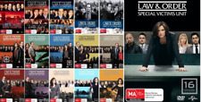 Law and Order SVU : COMPLETE Season 1 - 16 : NEW DVD
