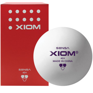 6 x XIOM Balls 2 x Custom Table Tennis Kokutaku 007 Licence To Spin 5 Star Bat