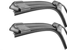 Rover 200 400 90-99 pair of Flat wiper blades 18/18 drivers passangers front