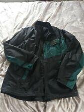 Barbour International Wax Jacket Black And Green XXL