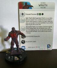 Wraith #051 SR Superman / Wonder Woman Heroclix set with card super rare