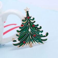 Vintage Christmas Tree Brooch Christmas Jewelry Christmas Decoration Brooch KV