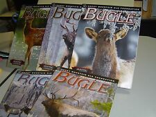 LOT OF 5 BUGLE MAGAZINES 2012 2013 2014 Elk Country and the Hunt HUNTING